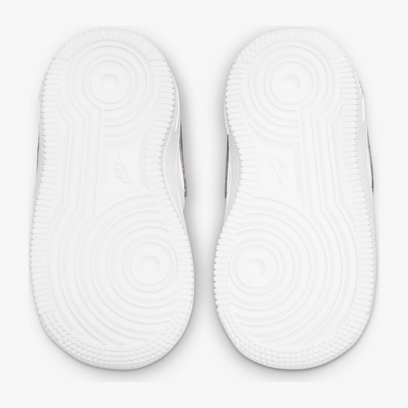 Nike Force 1 Lv8 Bebek Beyaz Spor Ayakkabı