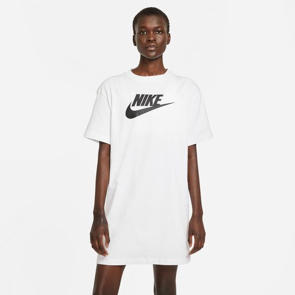 Nike Sportswear Essential Kadın Beyaz Elbise