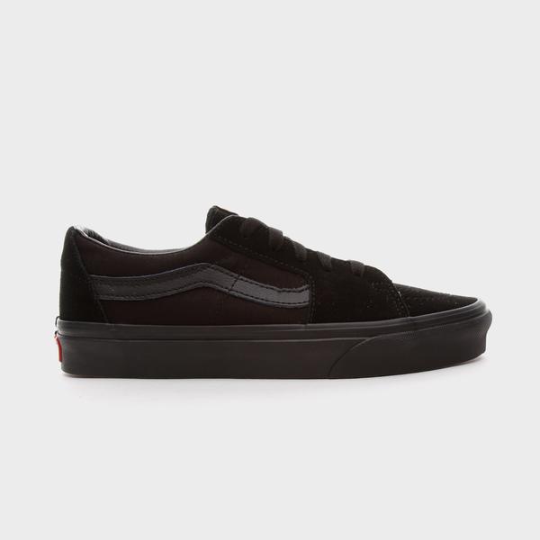 Vans Ua Sk8-Low Unisex Siyah Sneakers