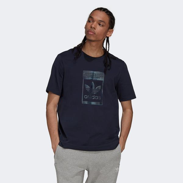 adidas Camo Infill Erkek Lacivert T-shirt