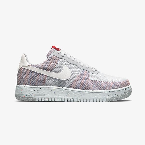 Nike Air Force 1 Crater FlyKnit Erkek Gri Spor Ayakkabı