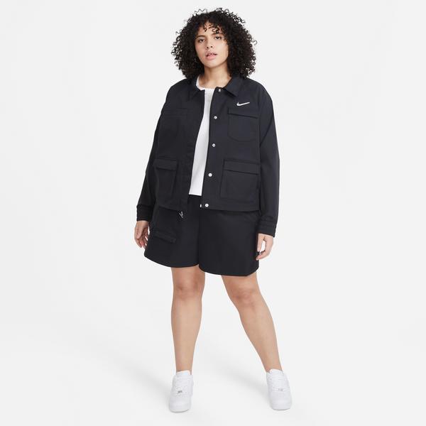 Nike Sportswear Swoosh Kadın Siyah Şort
