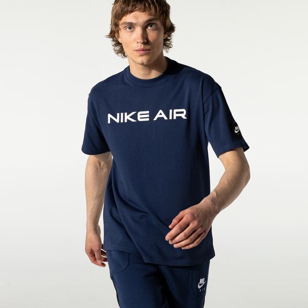 Nike Air Erkek Mavi T-Shirt