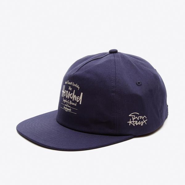 Herschel x Evan Hecox Lacivert Unisex Şapka