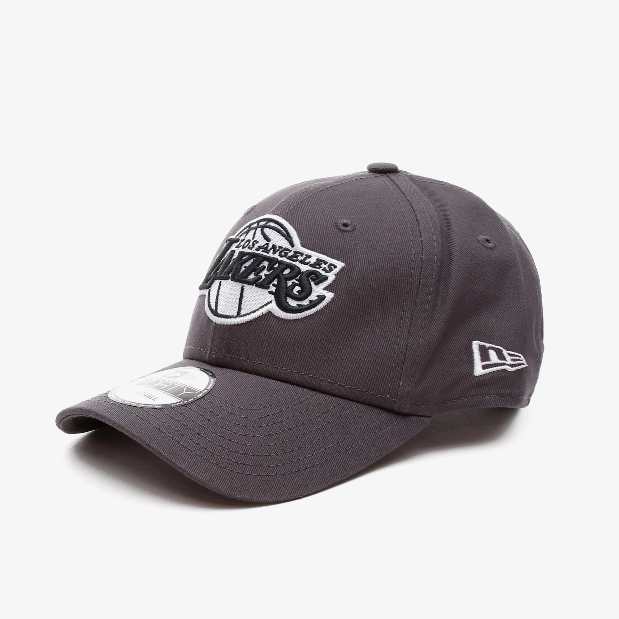 New Era Los Angeles Lakers Gri Unisex Şapka