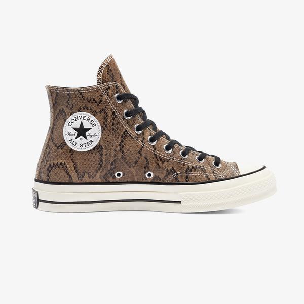 Converse Chuck 70 Archive Reptile Suede Hi Kadın Kahverengi Sneaker