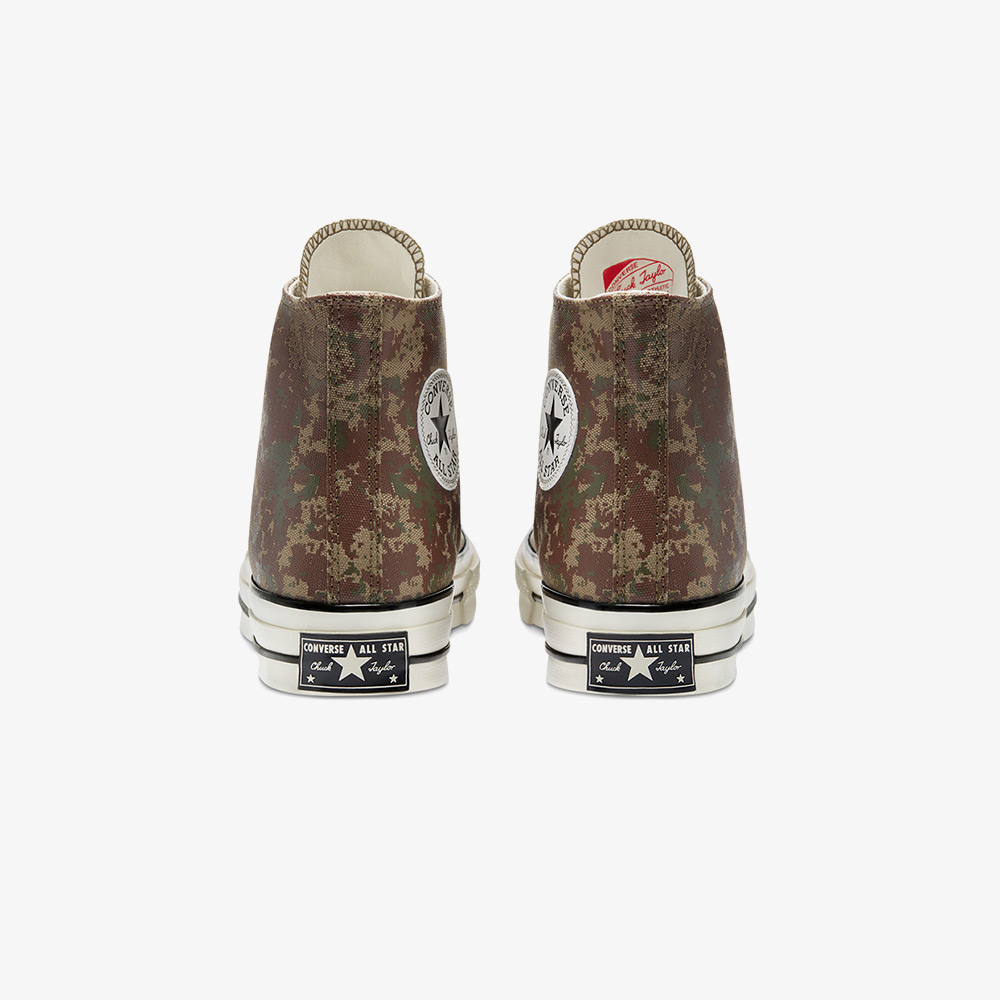 Converse Chuck 70 Pixelated Digital Camo Hi Erkek Kahverengi Sneaker