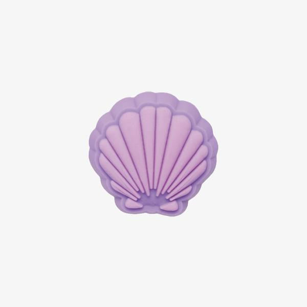 Jibbitz Seashell Unisex Mor Terlik Süsü