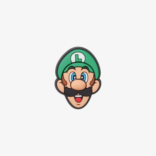 Jibbitz Super Mario Luigi Unisex Renkli Terlik Süsü