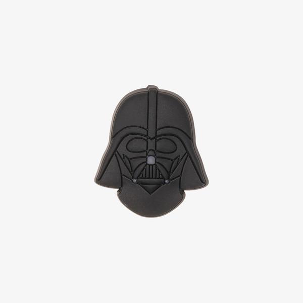 Jibbitz Star Wars Darth Vader Helmet Unisex Siyah Terlik Süsü