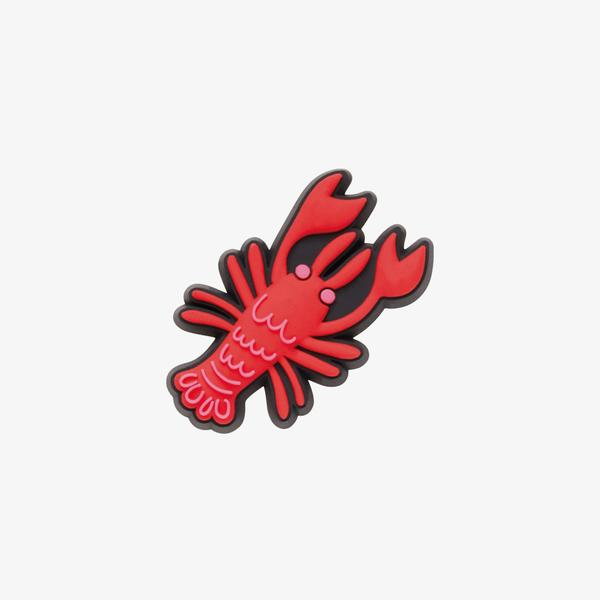 Jibbitz Lobster Unisex Kırmızı Terlik Süsü