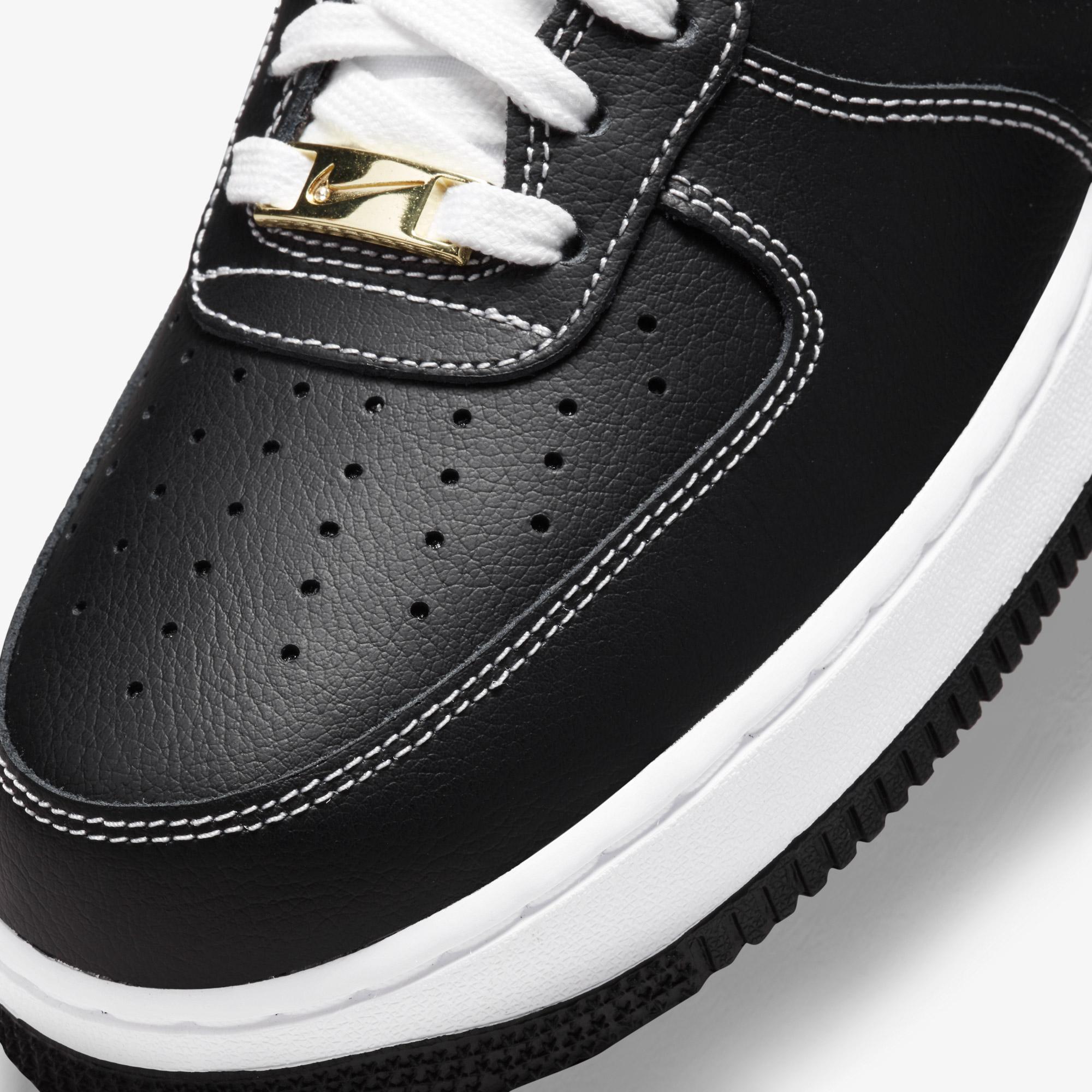 Nike Air Force 1 Low First Use Erkek Siyah Spor Ayakkabı
