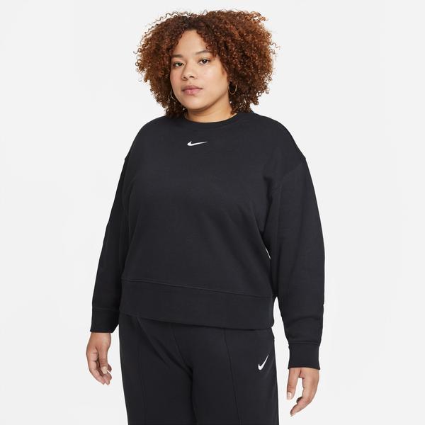 Nike Sportswear Collection Essentials Kadın Siyah Sweatshirt