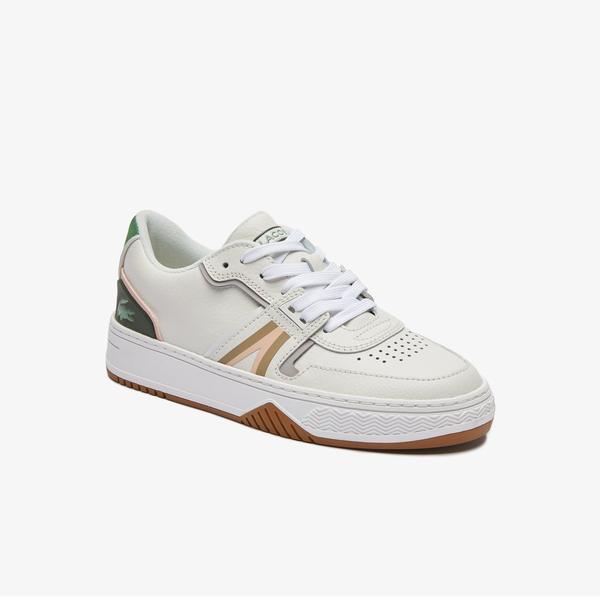 Lacoste L001 Kadın Deri Beyaz Spor Ayakkabı