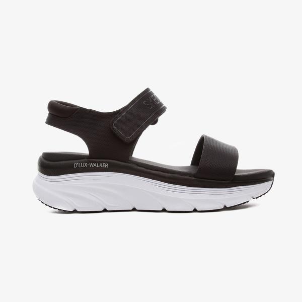Skechers D'Lux Walker - New Block Kadın Siyah Spor Ayakkabı
