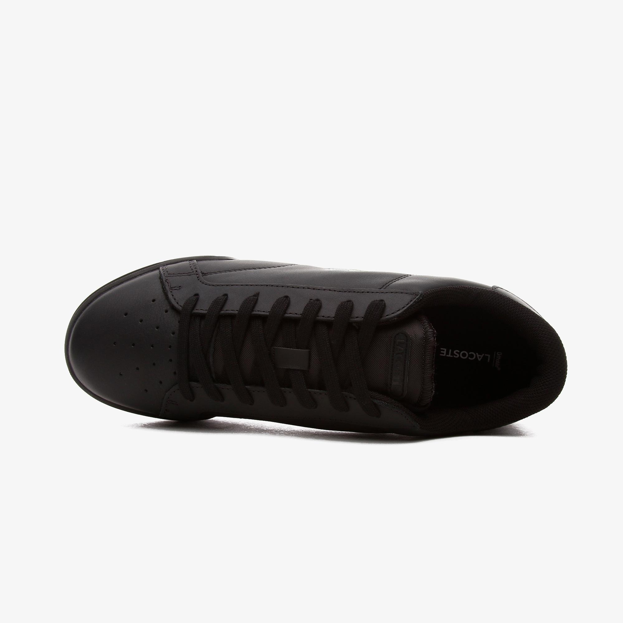 Lacoste Twin Serve Erkek Deri Siyah Spor Ayakkabı