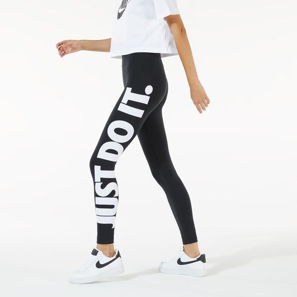 Nike Sportswear Essential Kadın Siyah High-Rise Tayt