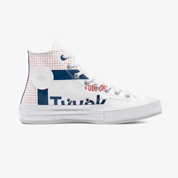 Converse Chuck 70 Hi Erkek Beyaz Sneaker