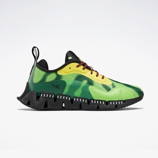 Reebok Jurassic Park Zig Dynamica Kadın Yeşil Spor Ayakkabı