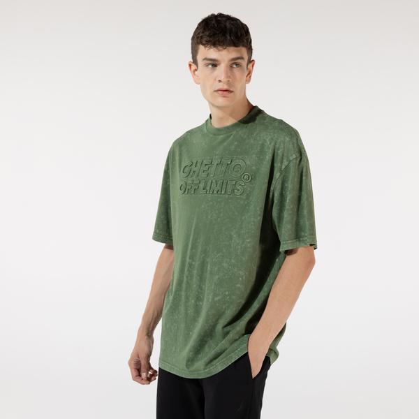Ghetto Off Limits Unisex Yeşil Tshirt