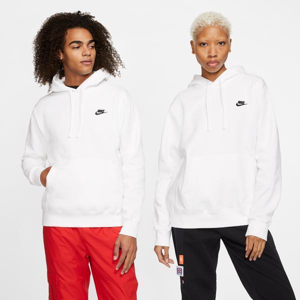 Nike Club Fleece Erkek Beyaz Sweatshirt