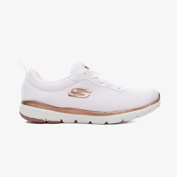 Skechers Flex Appeal 3.0 Kadın Beyaz Spor Ayakkabı
