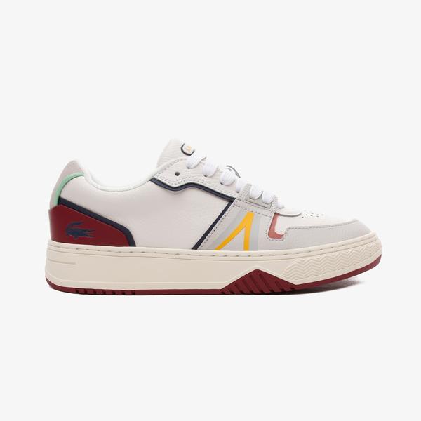 Lacoste L001 Erkek Deri Beyaz Spor Ayakkabı