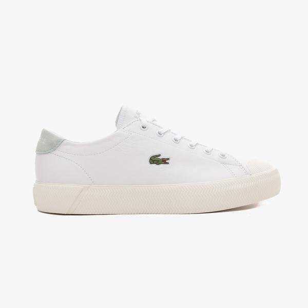 Lacoste Gripshot Kadın Deri Beyaz - Açık Yeşil Spor Ayakkabı