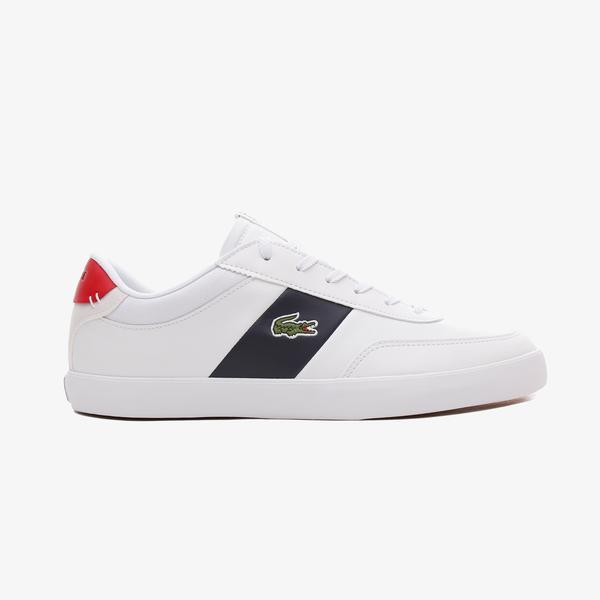 Lacoste Court-Master Erkek Deri Beyaz Spor Ayakkabı