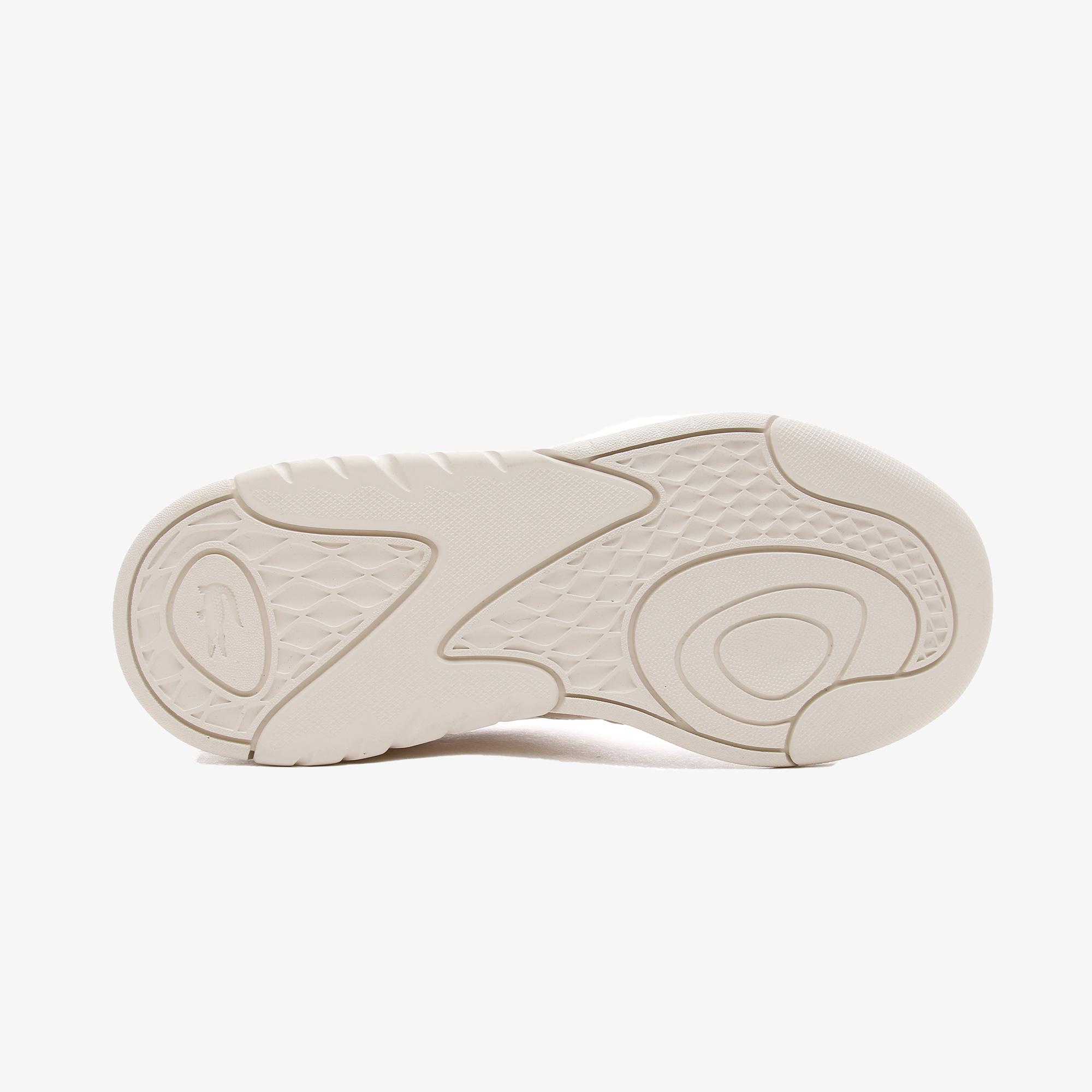 Lacoste Game Advance  Kadın Deri Beyaz - Açık Yeşil Spor Ayakkabı