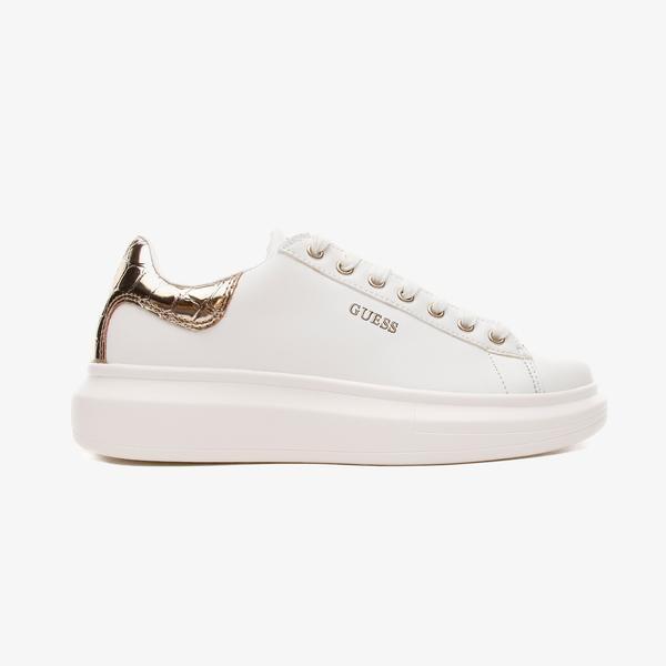Guess Salerno Kadın Beyaz Spor Ayakkabı