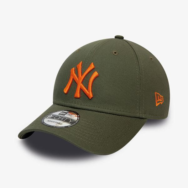 New Era New York Yankees League Essential 9Forty Unisex Yeşil Şapka