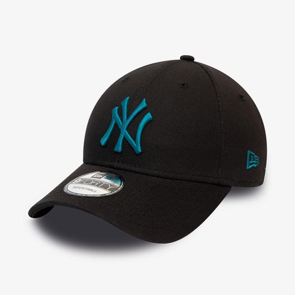 New Era New York Yankees League Essential Black 9Forty Unisex Siyah Şapka