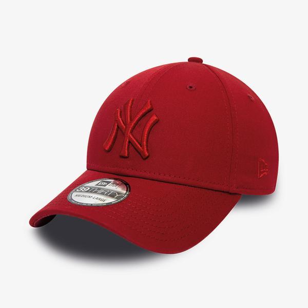 New Era New York Yankees League Essential 39Thirty Unisex Kırmızı Şapka