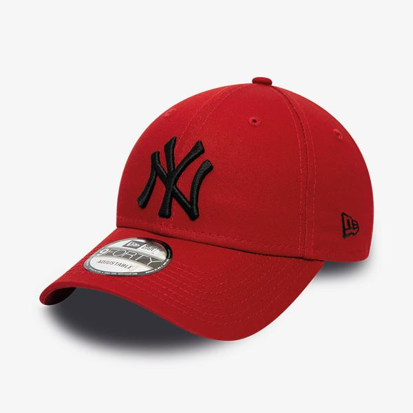 New Era New York Yankees League Essential 9Forty Unisex Kırmızı Şapka