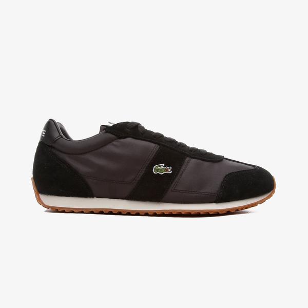 Lacoste Court Pace Erkek Siyah - Gümüş Spor Ayakkabı