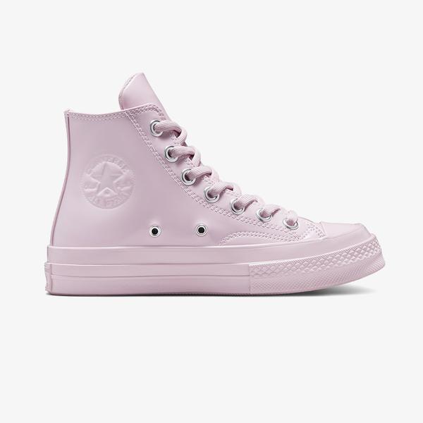 Converse Chuck 70 Hi Patent Leather Kadın Pembe Sneaker