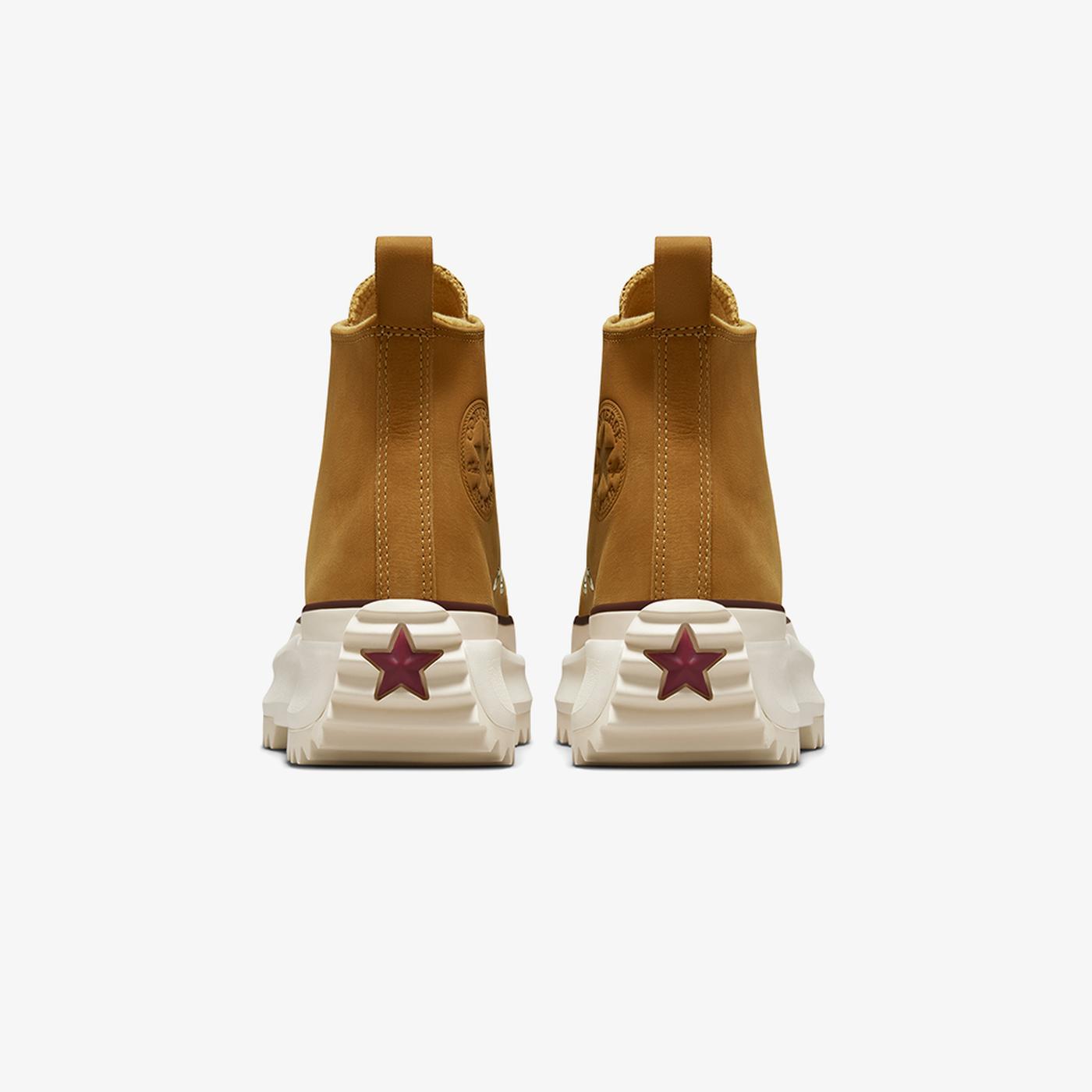 Converse Run Star Hike Hi Kadın Platform Kahverengi Sneaker