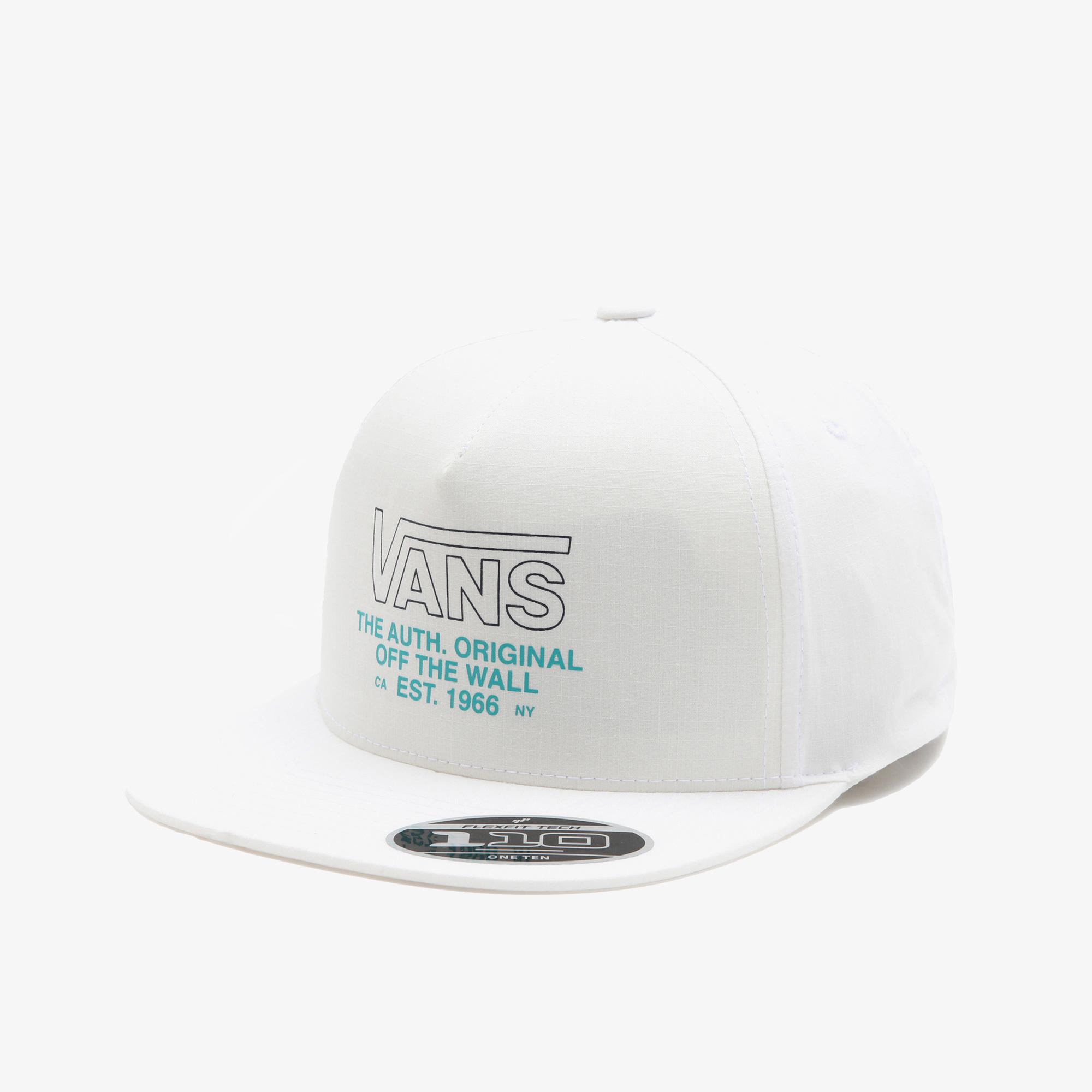 Vans Sequence 110 Snapback Erkek Beyaz Şapka