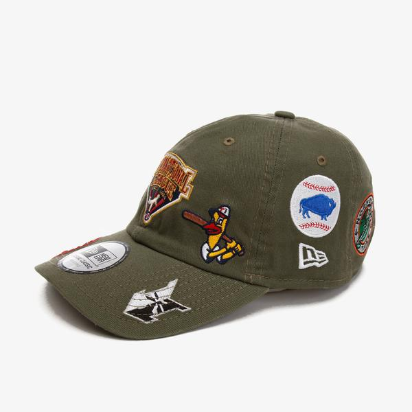 New Era Buffalo Bılls Print Casual Classic Unisex Yeşil Şapka