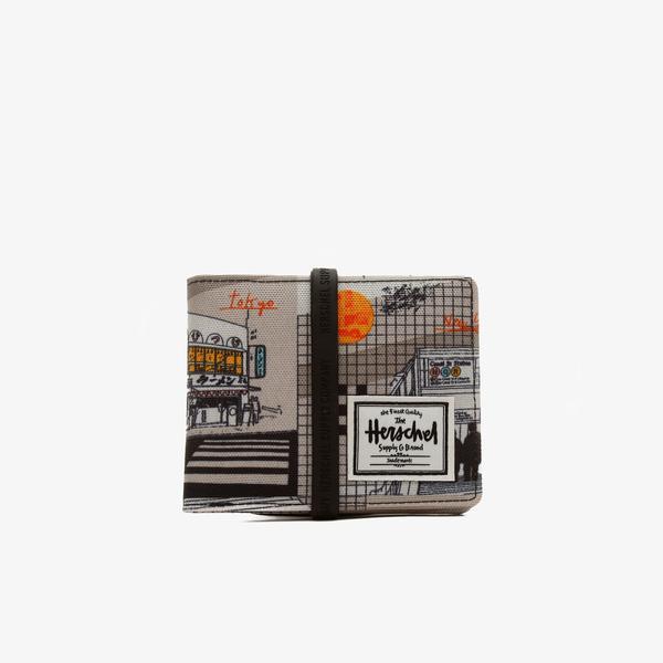 Herschel Roy RFID World Travel Unisex Gri Cüzdan