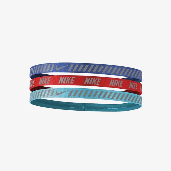 Nike Printed Hazard Stripe Assorted 3'lü Unisex Renkli Saç Bandı
