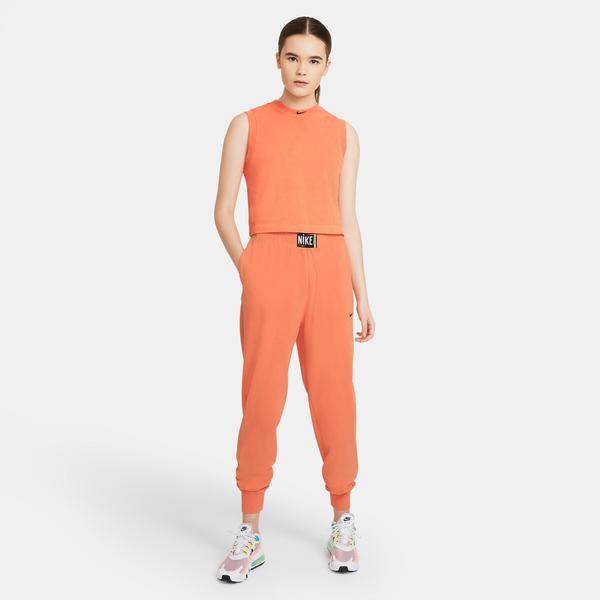 Nike Sportswear Wash Hr Kadın Turuncu Eşofman Altı