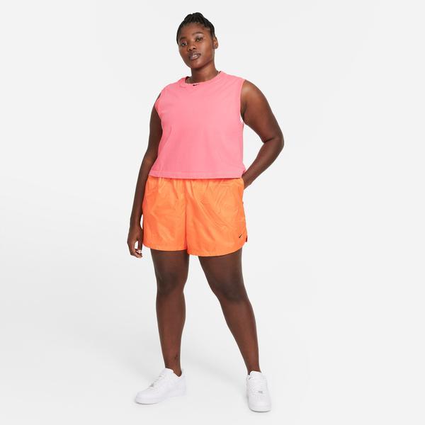 Nike Sportswear Woven Wash Kadın Turuncu Şort
