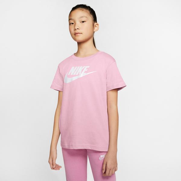 Nike Sportswear Basic Futura Çocuk Pembe T-Shirt