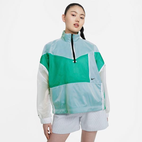 Nike Sportswear Tech Pack Woven Mesh Kadın Yeşil Ceket