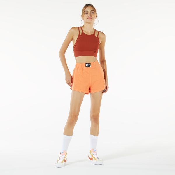 Nike Sportswear Wash Kadın Turuncu Şort