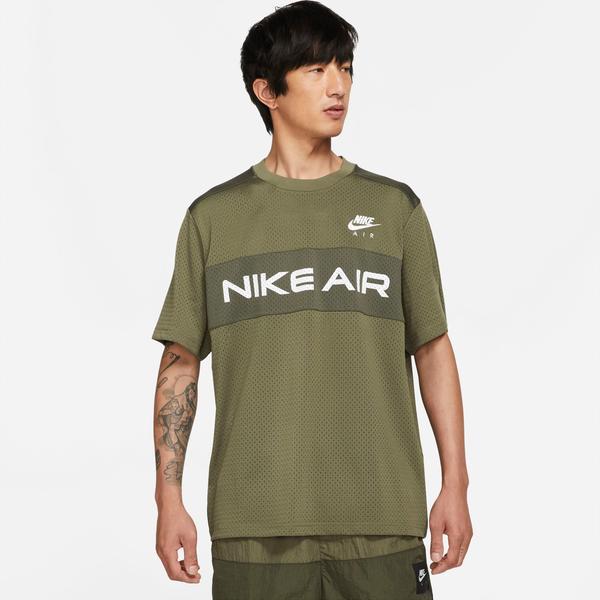 Nike Sportswear Nike Air Mesh Top Erkek Yeşil T-Shirt