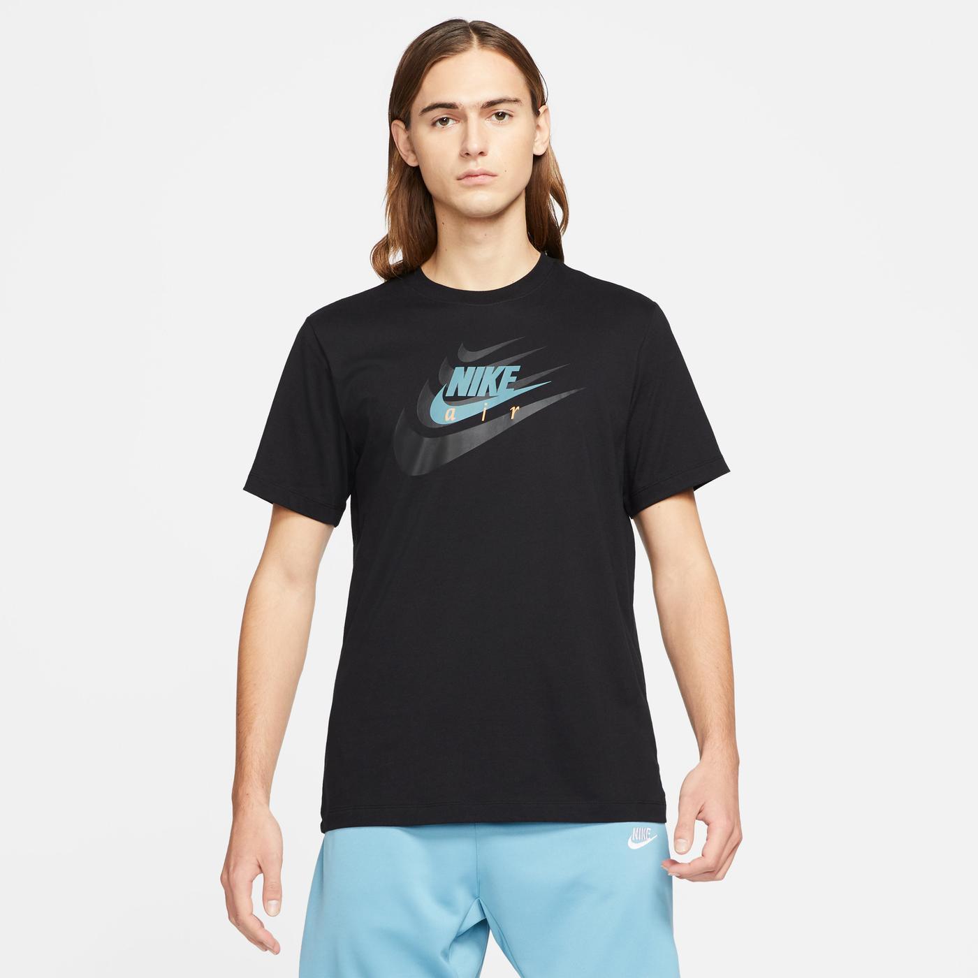 Nike Sportswear Multibrand Hbr Erkek Siyah T-Shirt