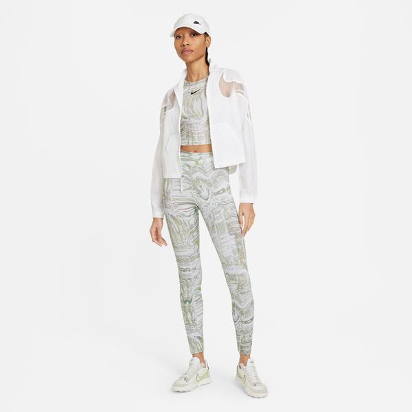 Nike Sportswear Aop Prnt Kadın Beyaz Tayt